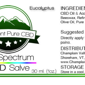 Full Spectrum CBD Topical Salve/Balm – 250mg. – Subscription