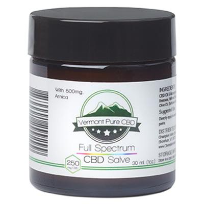 Full Spectrum CBD (250 mg) Salve – With Arnica (500 mg)