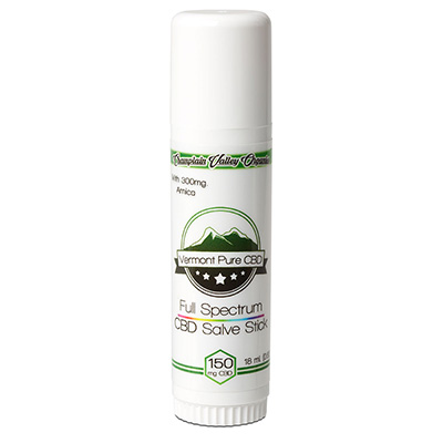 Full Spectrum CBD Salve/Balm Stick 150mg with Arnica
