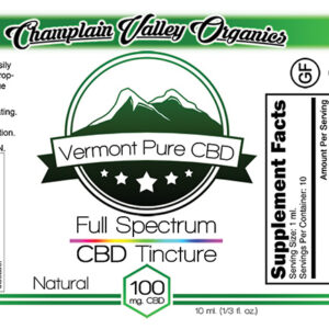 Full Spectrum CBD Tincture – 100mg. – Subscription