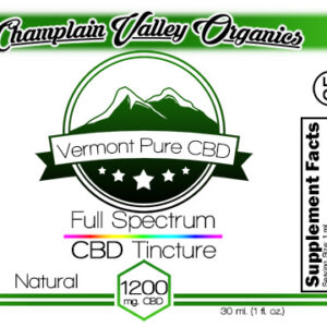 Full Spectrum CBD Tincture – 1200mg. – Subscription