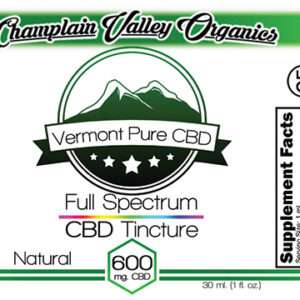 Full Spectrum CBD Tincture – 600mg. – Subscription