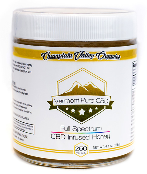 Full Spectrum CBD Infused Honey