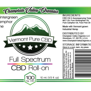 Full Spectrum CBD Topical Roll-On – 100mg. – Subscription