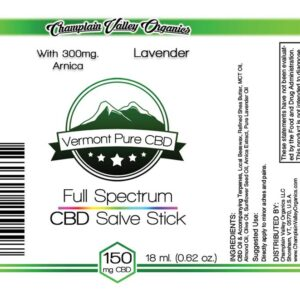 Full Spectrum CBD (150 mg.) Salve/Balm Stick – With Arnica (300 mg.) – Subscription