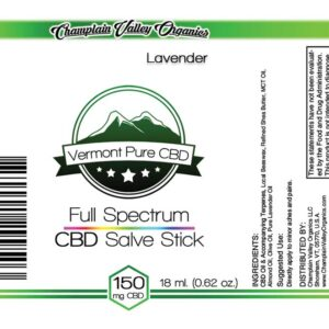 Full Spectrum CBD (150 mg.) Salve/Balm Twist-Up Stick