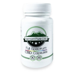 Full Spectrum CBD Capsules – 35 mg.