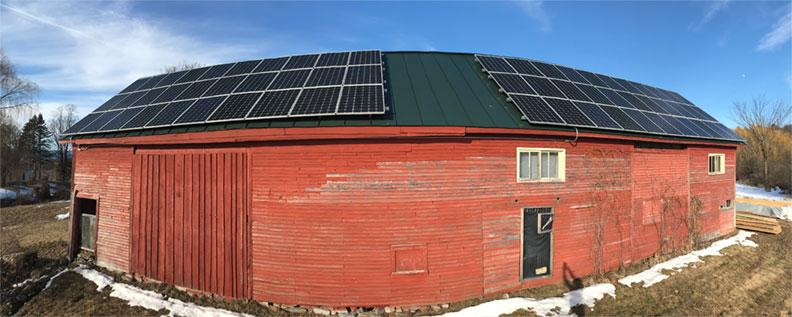 Vermont Pure CBD Solar Panels - renewable energy