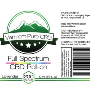 EXTRA STRENGTH – Full Spectrum CBD Topical Roll-On – 200mg.