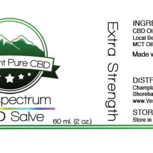 EXTRA STRENGTH – Full Spectrum CBD Topical Salve/Balm – 1000mg.