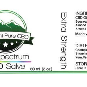 EXTRA STRENGTH – Full Spectrum CBD (1000 mg) Salve – With Arnica (1000 mg)