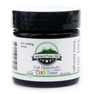 EXTRA STRENGTH – Full Spectrum CBD (500 mg) Salve – With Arnica (500 mg)