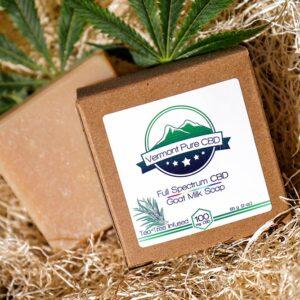 Full Spectrum CBD Goat Milk Soap – 3 oz. – 100mg.