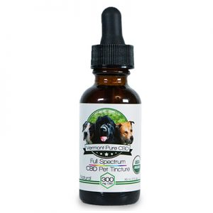 300mg Organic CBD Pet Tincture