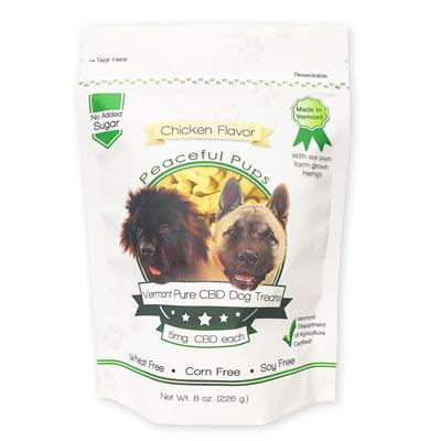 CBD dog treat biscuit