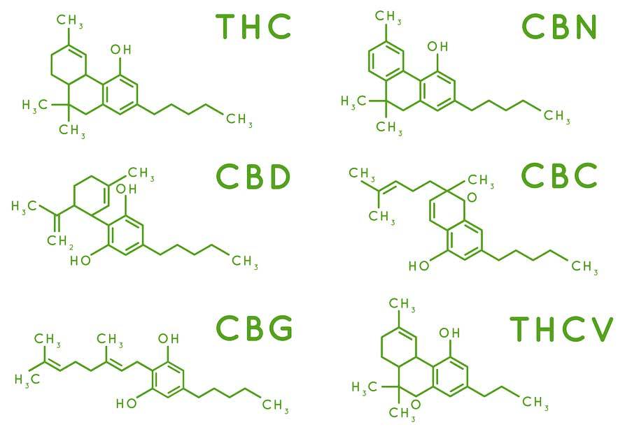 Hemp-Cannabis Plant Compounds